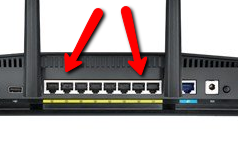 wifi ethernet ports